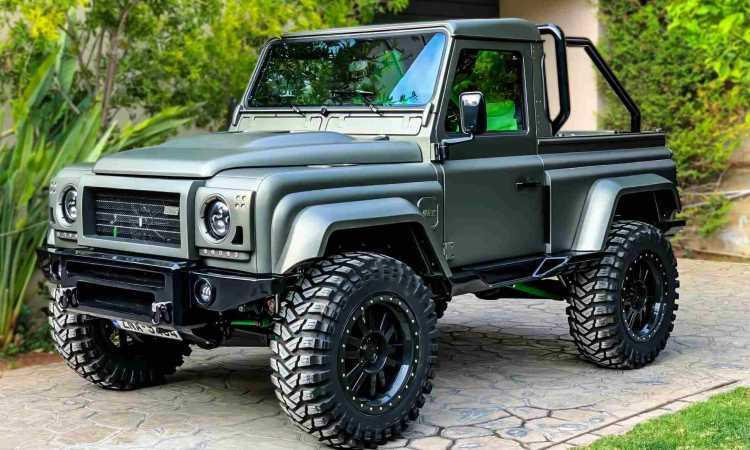 Land Rover Defender for sale – custom made…
